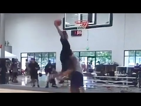 Shaquille O Neal Dunked On By Son