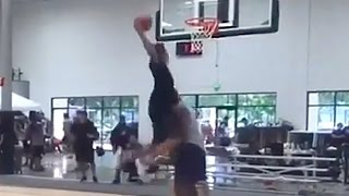 Shaquille O'Neal Dunked On By Son