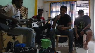 ajeeb dastan hai yeh unplugged(cajon)