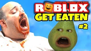Roblox: Get Eaten #2 😋 🍐 [Pear Plays]