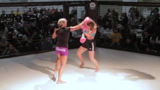 Amazing Girl Fight | Female Kickboxing | Astoria Oregon