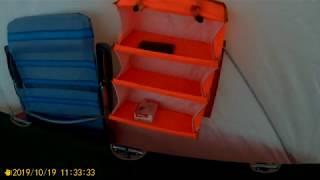 Палатка куб Медведь 4 мини обзор её оснащения на рыбалку