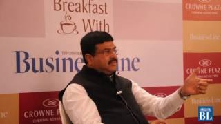 Breakfast with BusinessLine: Dharmendra Pradhan