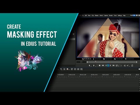 Xxx Mp4 HOW TO MAKE WEDDING MASKING EFFECT IN EDIUS TUTORIAL 3gp Sex