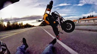 Hectic Road Bike Crashes & Motorcycle Mishaps 2018