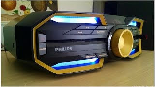Unbox e Teste do Mini system Philips FX30 ou FX30x/78 ~ 600W RMS, Bluetooth e NFC