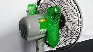 How to make air conditioner at home using Plastic Bottle - Very Easy