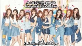 I.O.I - When The Cherry Blossoms Fade (Studio Ver.) + [English subs/Romanization/Hangul]