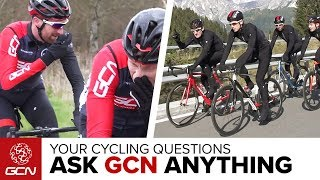 Group Riding Etiquette   Ask GCN Anything About Cycling
