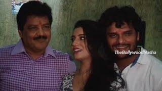 Hogi Pyar Ki Jeet - Khesari Laal Yadav - Udit Narayan - Song Recording & Muhurat Bhojpuri Film P1