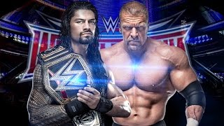Roman Reigns Vs. Triple H - WWE Wrestlemania 32 Promo