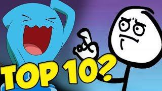 My Non-Pokemon Friend's Top 10 Best / Strongest Pokemon List?