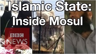 Iraq: Islamic State inside Mosul - BBC News