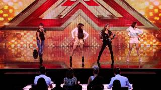 Filipina Band Girl 4th Power wows all judges Audition X factor UK 2015