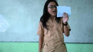 "Baca Puisi ""Anak Anak Pinggiran"" SMAN 41 Thn 2016"