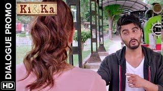 Arjun can tell Kareena's age | Ki & Ka | Dialogue Promo