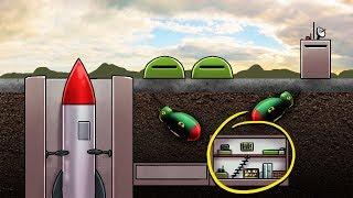 Minecraft   NUKE WARS - Secret Bunker Defense! (Nuclear Missile Launch Station)