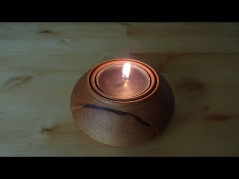 Woodturning Projects Maple Tea Light