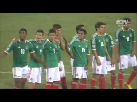 Mexico 11 Brasil 10 en penales Mundial Sub17 01Nov2013