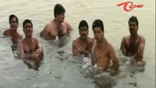 Srikanth Gang Comedy Scene With Village Girls In lake