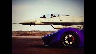 تحدي بين اسرع طياره واسرع سياره في قراند : GTA V