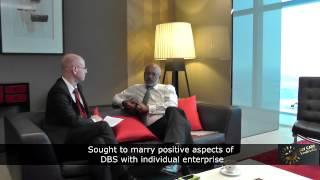 Piyush Gupta, CEO of DBS interviewed by Avi Liran (1 out of 6)