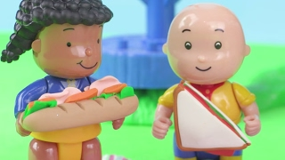 Caillou and Friends Have A Picnic In The Garden! 🍔🌻 | Caillou Full Episodes ADVERTISEMENT