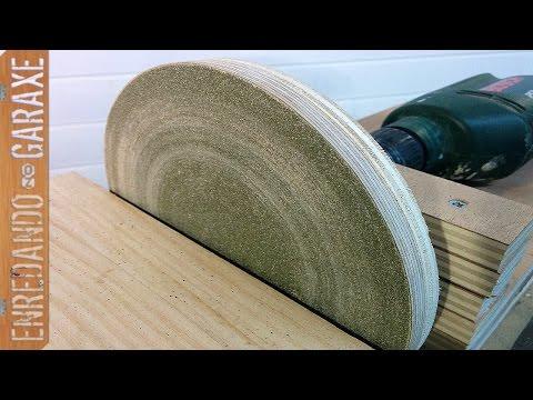 Cómo hacer una lijadora de disco casera