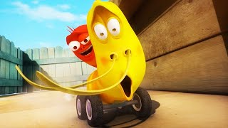 LARVA - GRAND PRIX   Cartoon Movie   Cartoons For Children   Larva Cartoon   LARVA Official