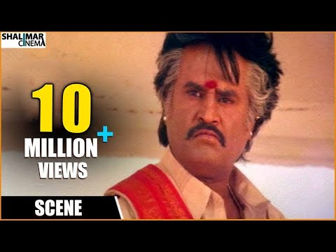 Pedarayudu Movie || Rajnikanth Extraordinary Dialogue || Mohan Babu,Soundarya