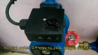 Cara pasang pompa pendorong air PAM dengan YORK
