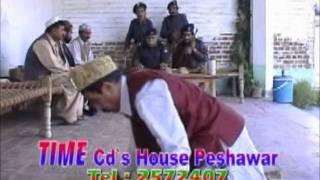 pashto drama - Khanak pa sar police clip