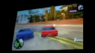 gta vice city psp how to get to second island with a jumping car VERY EAZZZY!!