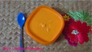 Homemade Baby Food | Sweet Potato Baby Food Puree | Mon An Dam Cho Be