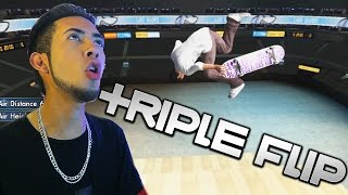 Skate 3 Xbox One: TAILWALK TRIPLE FLIP & BMX! | Skate 3 Funny Moments
