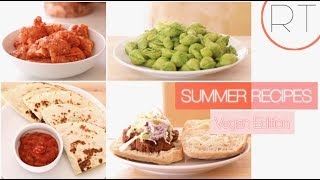 Easy Summer Recipes (Plant Based/Vegan)