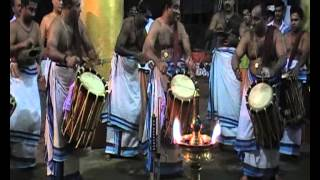 thri thayambaka, by mattannur ...(adanthakoor to  chembakoor)