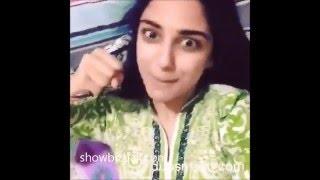 Dubmash of Pakistani actresses & actors: Fawad Humaima Mehwish Hayat Anum Neelum Maya ali