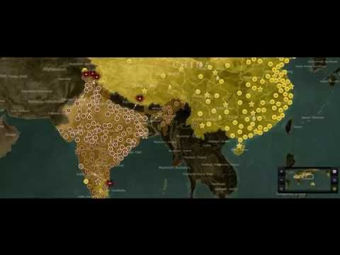 watch China vs India Simulation part #2