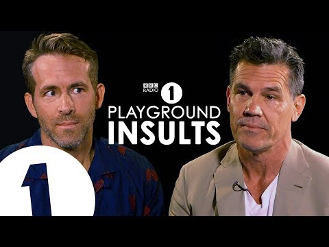 Xxx Mp4 Ryan Reynolds And Josh Brolin Insult Each Other CONTAINS STRONG LANGUAGE 3gp Sex