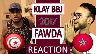 Klay BBj  Fawdha - Reaction شاهد ردة فعل مغربي عند سماعه الراب التونسي