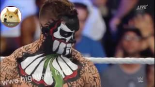 Seth Rollins VS Finn Balor   Highlights