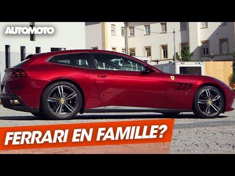 Ferrari GTC4 Lusso la familiale ultime
