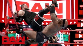 Bobby Lashley vs. Kevin Owens vs. Elias - Money in the Bank Qualifying Match: Raw, May 14, 2018