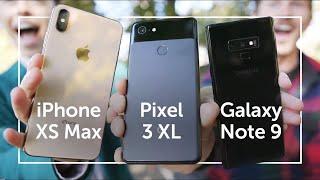 Pixel 3 XL vs iPhone XS Max vs Note 9   CAMERA SHOOTOUT