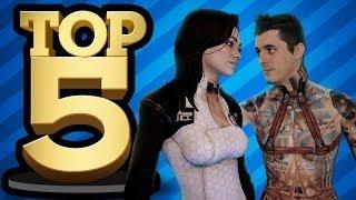 TOP 5 LOVE SCENES IN GAMES