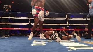LUIS ORTIZ KNOCKS OUT BRYANT JENNINGS IN 7 WITH DEVASTATING UPPCERUTS; FULL FIGHT POST-FIGHT AUDIO