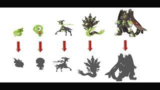 New Zygarde Evolution Forms - FANART.