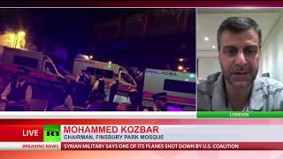 'Call it as it is: a terrorist attack' – chairman of London's Finsbury Park mosque on van attack
