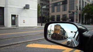 CSX Street Runner Train Echoes Throughout The City